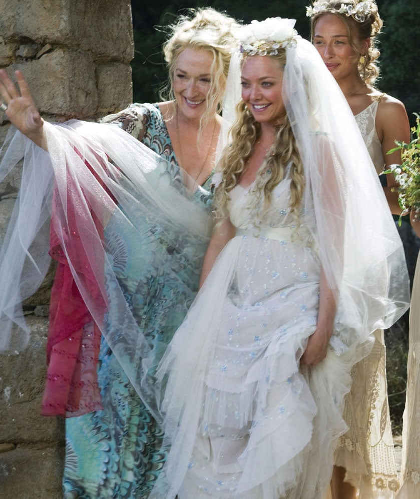 mamma mia amanda seyfried mamma mia wedding hair