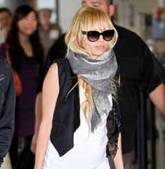 Nicole at the Airport