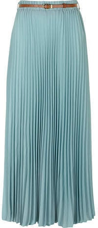 Dorothy Perkins Light Blue Maxi Skirt