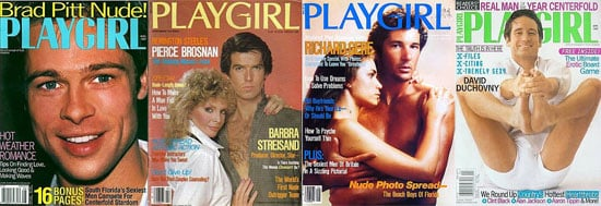 A Slideshow of Classic Playgirl Covers