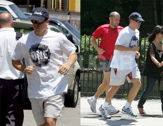 Matt In the Running for Cutest Dad Alive