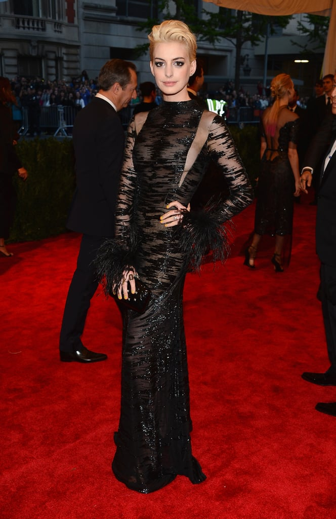 In Valentino At The 2013 Met Gala