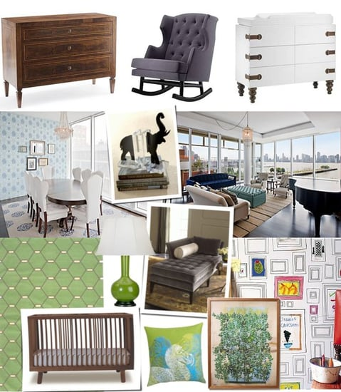 A Boy's Nursery Room Design For Pregnant Natalie Portman
