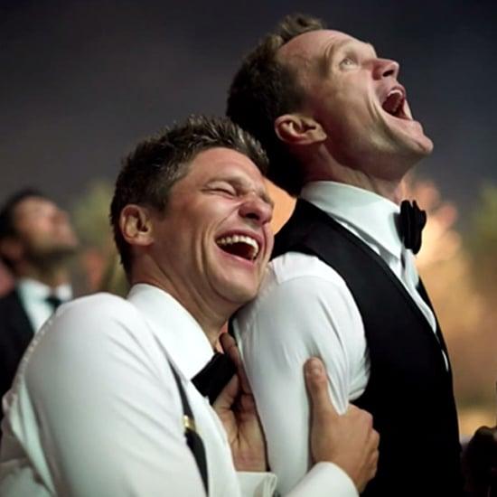 "Neil Patrick Harris Shares Supercute Wedding Photos: ""Take That, Clooney!"""