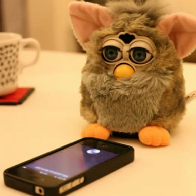 Siri Vs Furby Video
