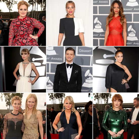 See All the Stars Arriving on the Grammys Red Carpet