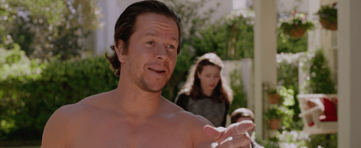 Watch a Shirtless Mark Wahlberg and Will Ferrell Clash in This Exclusive Daddy's Home Clip