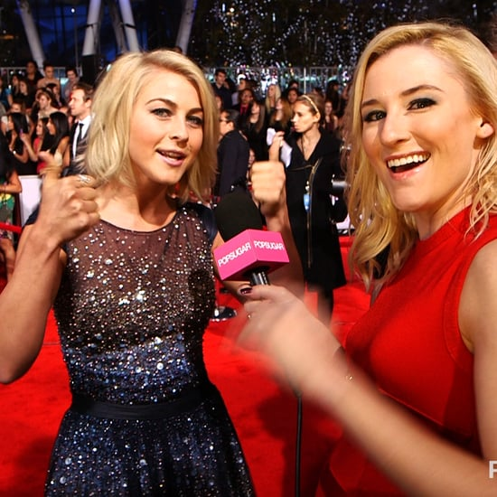 Julianne Hough People's Choice Awards Video Interview 2013
