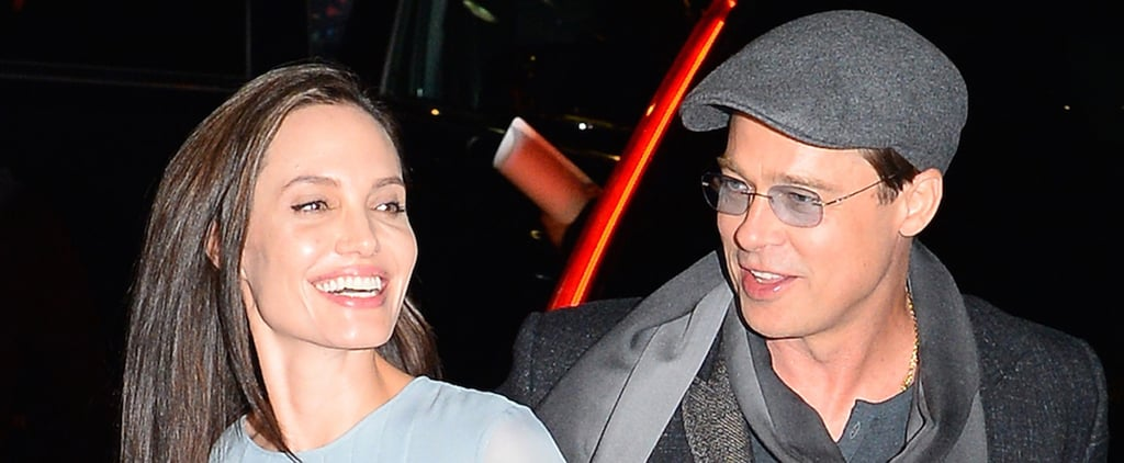 Angelina Jolie Is Completely Smitten by Brad Pitt During Their Night Out in NYC