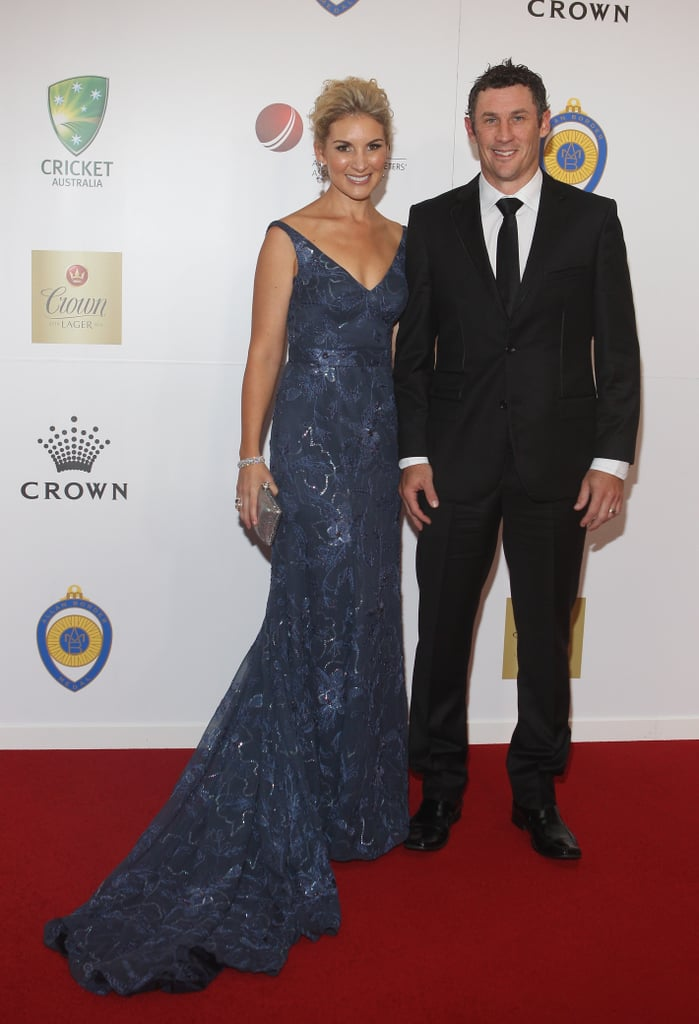 David Hussey and Kristy Hussey