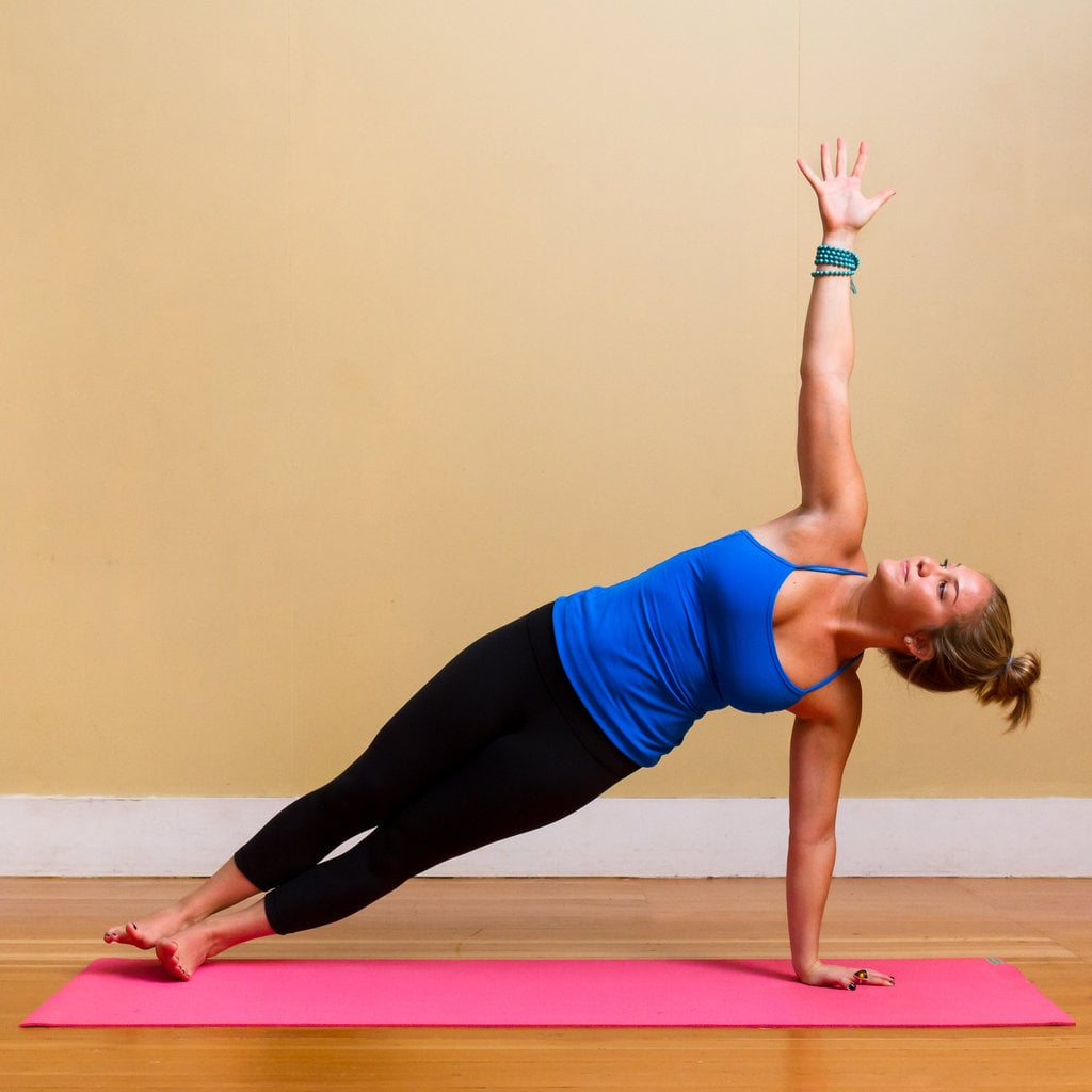 Yoga Moves to Reduce Muffin Top | POPSUGAR Fitness Australia