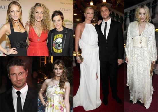 Photos of Mary-Kate Olsen, Charlize Theron, Lindsay Lohan at the Dubai Atlantis Palm Resort
