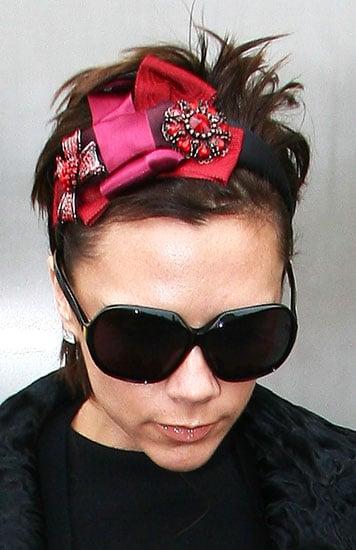 Love It or Hate It? Victoria Beckham's Vibrant, Multilayered Headband