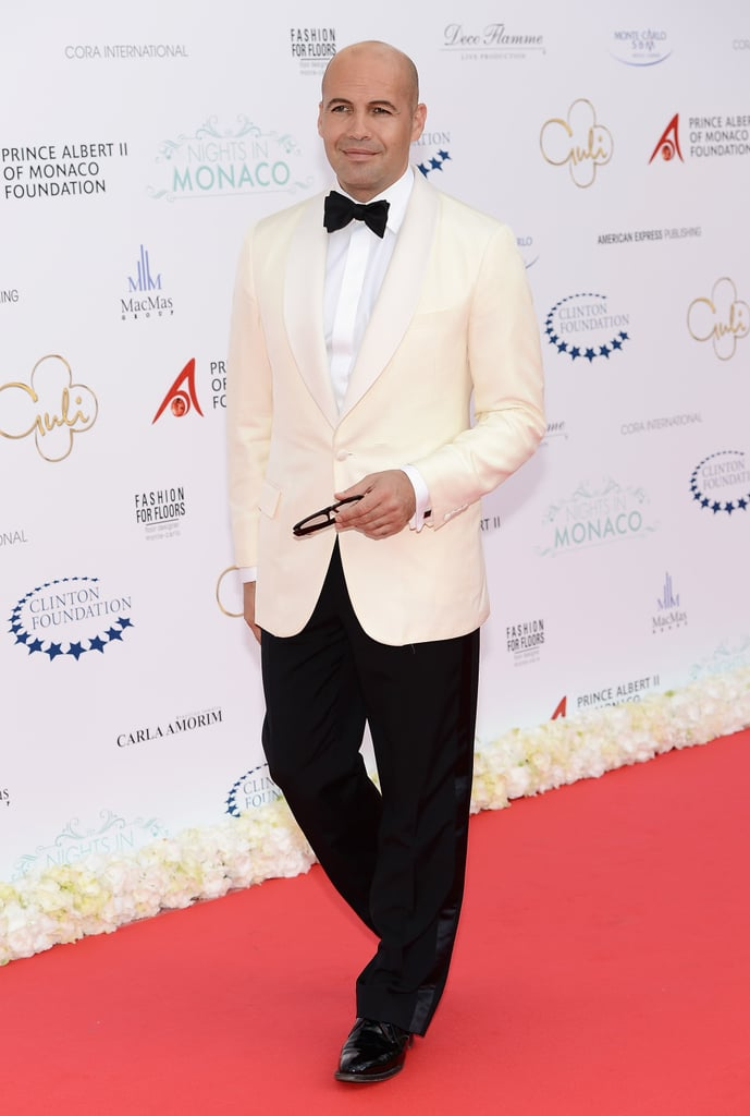 Billy Zane strutted onto the red carpet in Monte Carlo for the Nights in Monaco Gala Fundraiser.