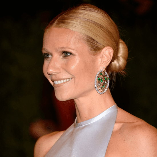 Gwyneth Paltrow Updo Tutorial