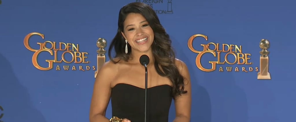 Gina Rodriguez Hopes Her Golden Globe Paves the Way For a New Generation