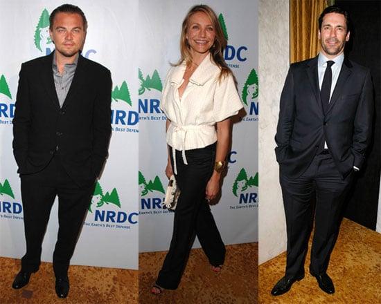Photos of Cameron Diaz, Leonardo DiCaprio, Jon Hamm at NRDC Party