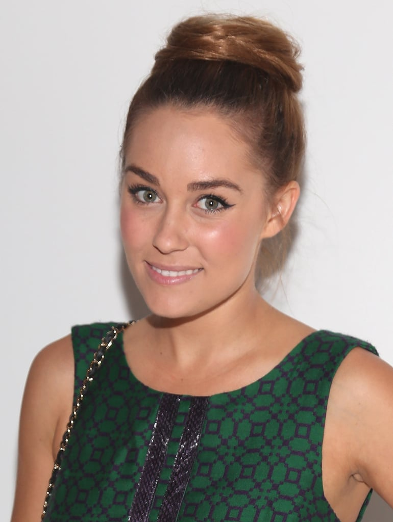 Lauren Conrad went to the Tracy Reese show.