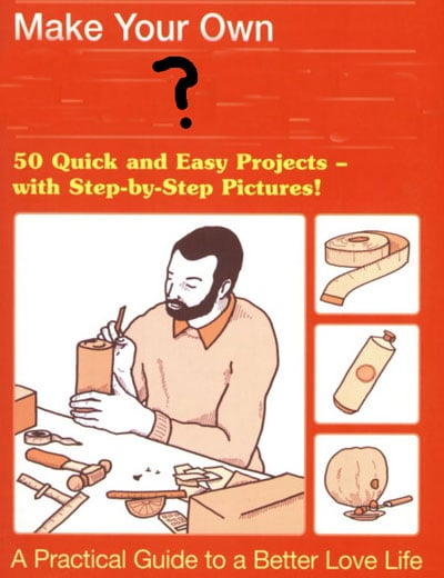 Guess What This DIY Book Is About?