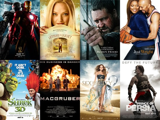 Poll on May Movie Releases, Including Iron Man 2, Sex and the City 2, and Prince of Persia