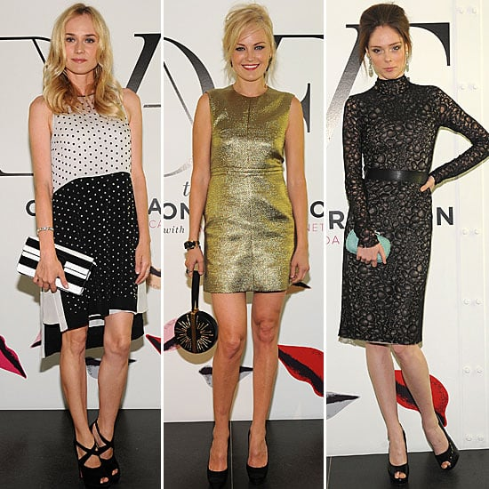 Pictures of Celebrities at Launch Party of The Conversation in NYC with DvF: Gwyneth Paltrow, Diane Kruger & More!
