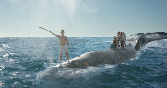 Meet Axel, Old Spice's Ridiculous New Whale-Riding Stuntman