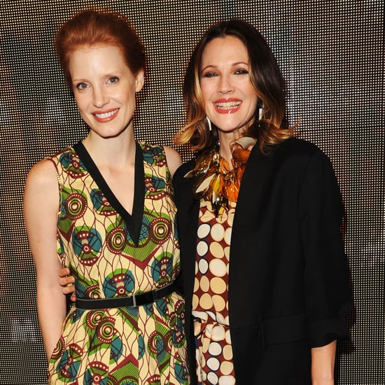 Drew Barrymore Pictures at Marni For H and M Launch