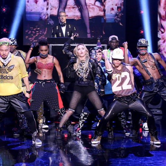 "Madonna Performs ""Bitch I'm Madonna"" on The Tonight Show"