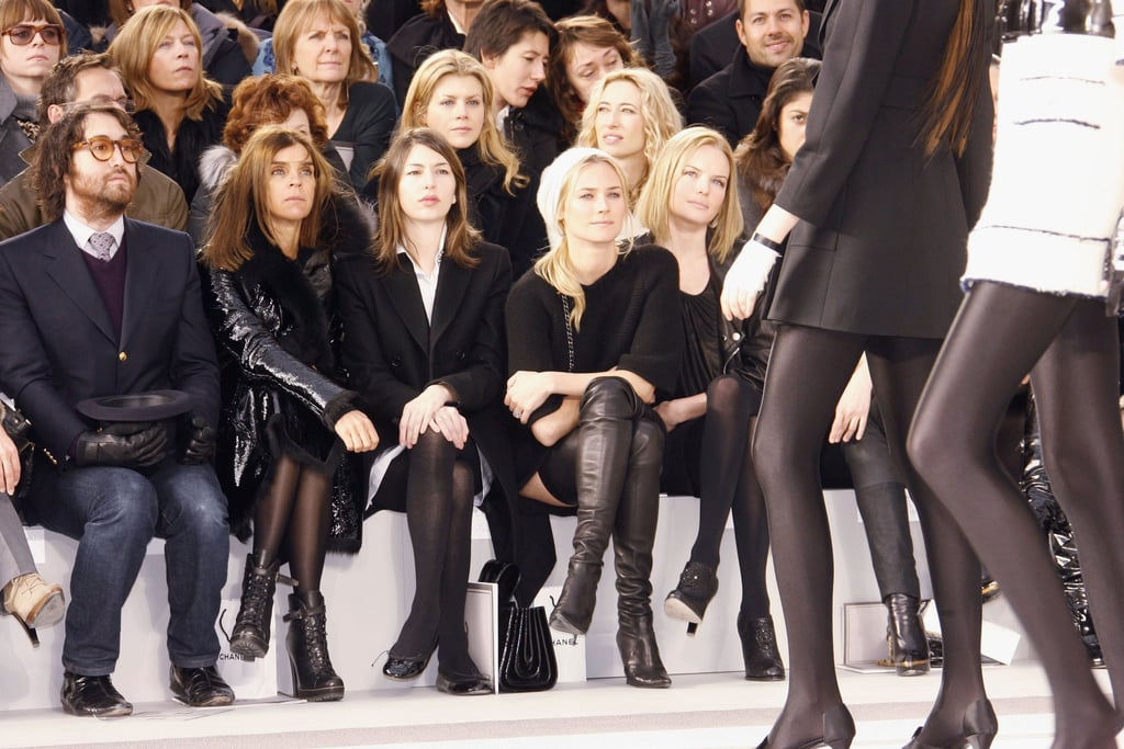 Sofia Coppola, Diane Kruger and Kate Bosworth were united in Paris for Chanel in January 2007.