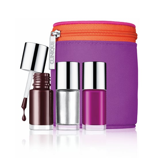 For the woman who loves bright colors, give the Limited Edition Clinique Party Tips Nail Set ($23). The set comes with three universally flattering polishes and a colorful case that will last long after the lacquer is gone.