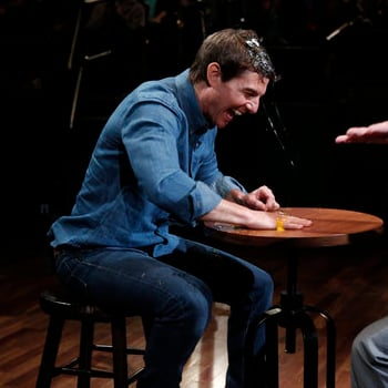Tom Cruise Plays Egg Roulette With Jimmy Fallon