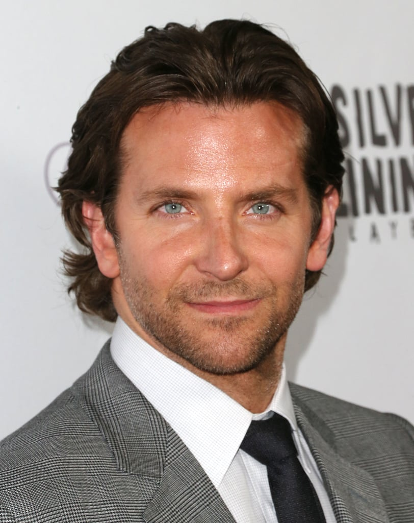 Bradley Cooper flashed a smile on the red carpet.