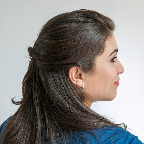 Kate Middleton Half-Up Hairstyle Tutorial