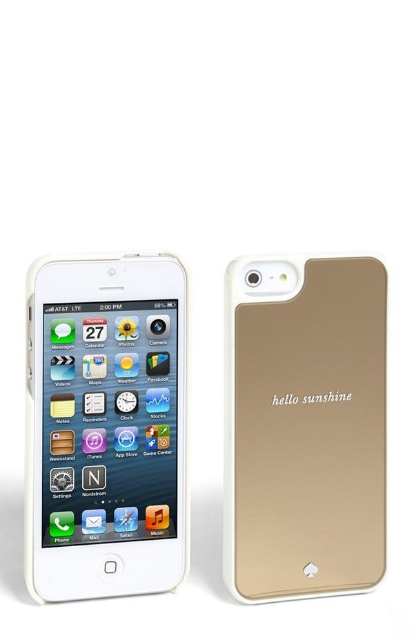Kate Spade Hello Sunshine iPhone 5/5S Case