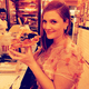 Drew Barrymore ditched the Golden Globes afterparties for an important rendezvous with a delicious slice of pizza. Source: Instagram user drewbarrymore