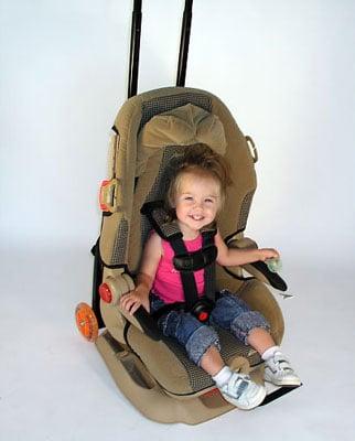 GoGo Kidz Car Seat Wheels