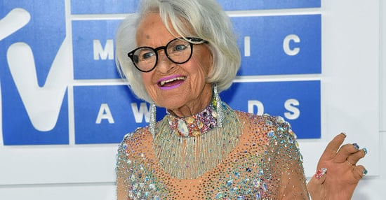 Baddie Winkle's Bedazzled Cane Is The Most Important Part Of The VMAs