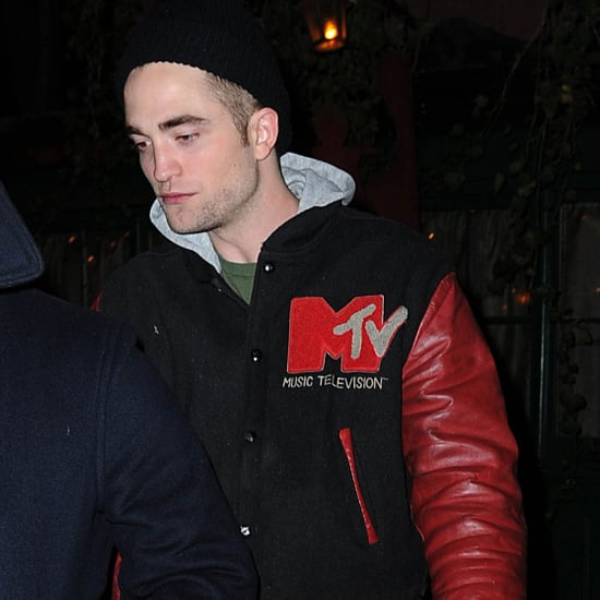 Robert Pattinson at the Waverly Inn in NYC