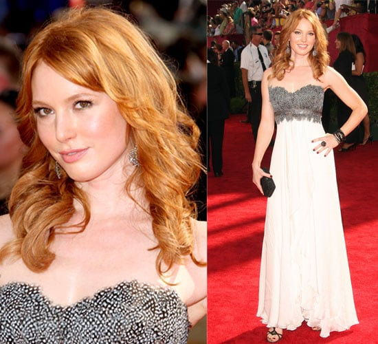 Photo of Alicia Witt on the Emmy Awards Red Carpet