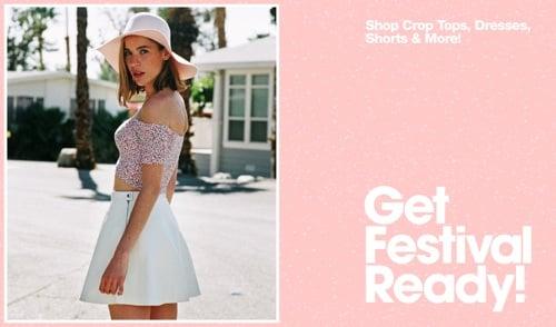 70% Off Shopbop; American Apparel's Festival Sale