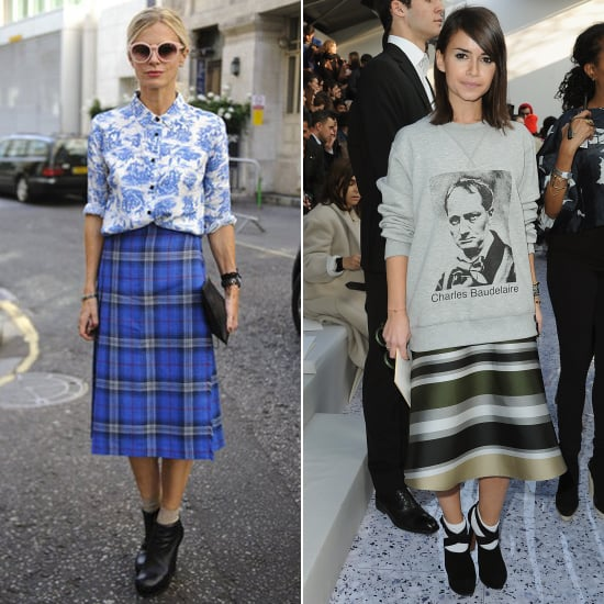 Style tips to totally rock a midi skirt