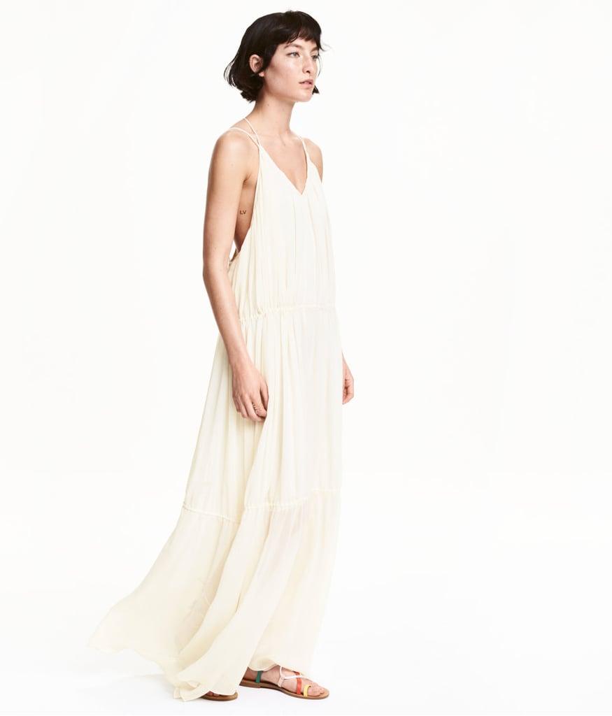 H&M Chiffon Maxi Dress ($60)