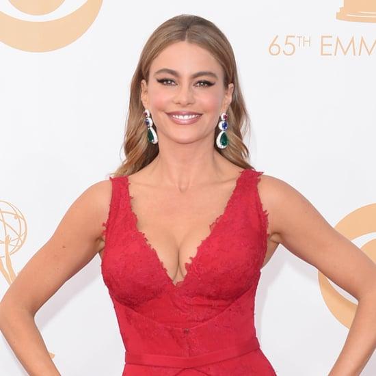 2013 Emmy Awards Red Carpet Celebrity Pictures