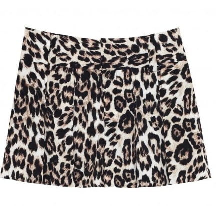 Alice + Olivia's leopard shorts ($176) will surely reveal your wild side. Match them with a neon yellow tank for an even bolder look.