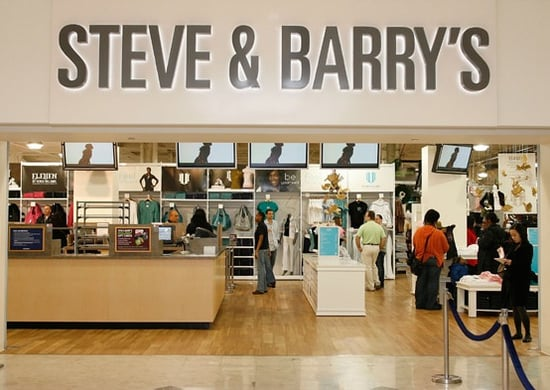 Steve & Barry's Files for Bankruptcy