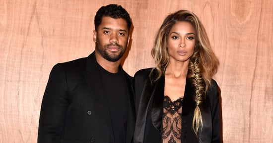 See Ciara's Roberto Cavalli Wedding Dress