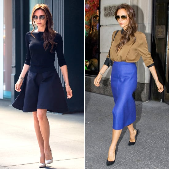 The Sidewalk Is a Catwalk For Victoria Beckham in NYC