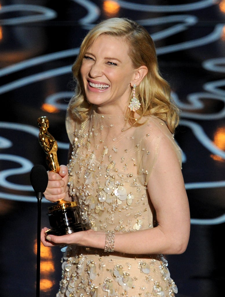 Cate Blanchett Wins Her Second Oscar!