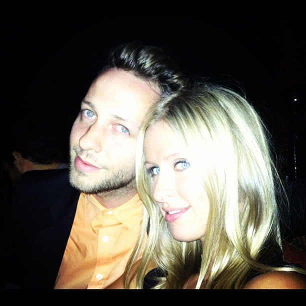 Nicky Hilton and Derek Blasberg hung out during Fashion's Night Out. Source: Instagram user nickyhilton