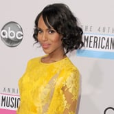 Pictures of Kerry Washington at the American Music Awards